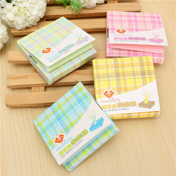 Multi-color Memo With Cover Pad Bookmark Sticker Paste Memo Index Sticky Notes