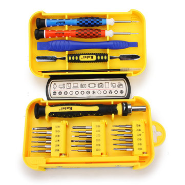 Kaisi 24 In 1 Precision Cell Phone Home Appliances Repair Screwdrivers Tweezers Tools Set