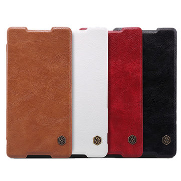 NILLKIN Brand QIN Leather Case Cover For Sony Xperia Z4