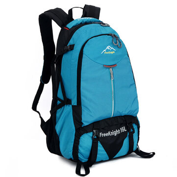 Men Women Outdoor Climb Travel Waterproof Nylon Big Capacity Shoudlers Bag Backpack