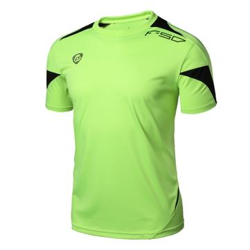 Mens Quick Dry Breathable Fitness Tees Casual Bodybuilding Running Short Sleeve T-Shirts