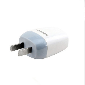 DiscoveryBuy 5V 1A US CN White Wall Charger Power Adapter For Cell Phone