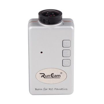 Silver Runcam FPV HD 1080P 120 Degree Wide Angle Mini Sport Actioncamera for 250mm Frame Quadcopter