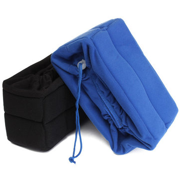Camera Len Insert Bag Protect Package Case Partition Padded Pouch For DSLR SLR