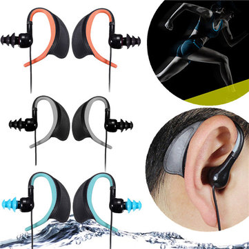 3.5mm Audio Jack IPX8 Waterproof Sport Headset Earphone For iPhone 6 Samsung LG HTC