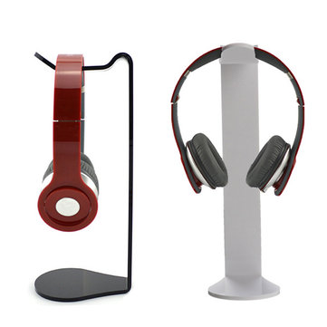 Universal Acrylic Headphone Stand Headset Holder Display Hanger For Sony AKG And Others