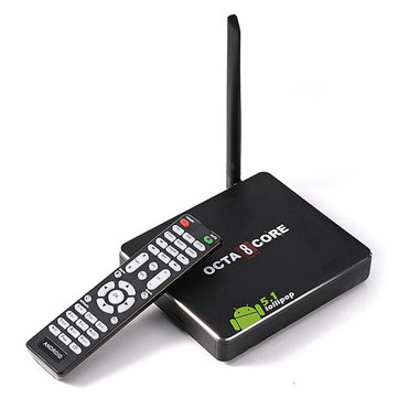 CSA90 Lollipop RK3368 Octa Core 1GB/8GB Bluetooth 4K Android 5.1 TV Box Mini Smart PC
