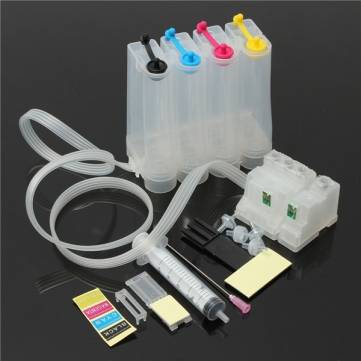 DIY 4 Colors Refillable Ink Cartridge 80ML For EPSON ME1 ME1+ ME100