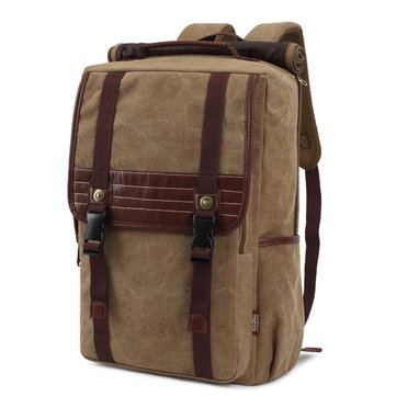 KAUKKO Men Shoulders Travel School Multifunctional Backpack Personalized Canvas Computer Bag