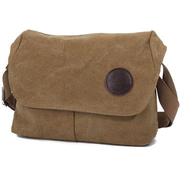 Men Canvas Crossbody Messenger Bag Shoulder Travel School Handbag