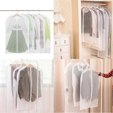 60 * 100 سنتيمتر الملابس البدلة اللباس سترة الملابس الأنظف معطف الغبار واقية غطاء شفاف