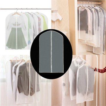 60 x 136cm Garment Suit Dress Jacket Clothes Sweater Coat Dust-proof translucent Cover