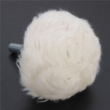 50mm Mounted Mushroom Cloth Buffing Wheel Polishing Wheel For Rotary Tool