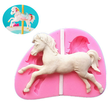 Silicone Horse Fondant Chocolate Mold Mould Cake Decoration