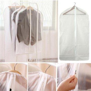 Peva traslucido pieghevole adatta ricopre i vestiti custodia indumento di copertura protettiva trasparente lavabile