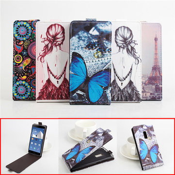 Multi-color Flip PU Leather Protective Case For Oneplus Two