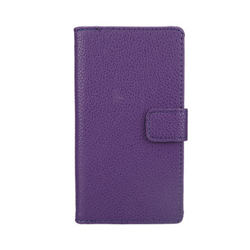 Litchi Stria Wallet Case For Sony Xperia Z L36h