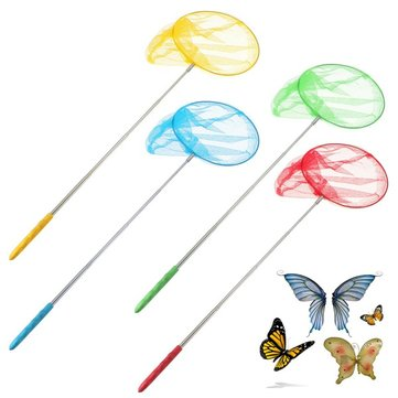 Outdoor Extendable Butterfly Net Insect Bug Fishing Nets Tools Garden Kids Child Toy