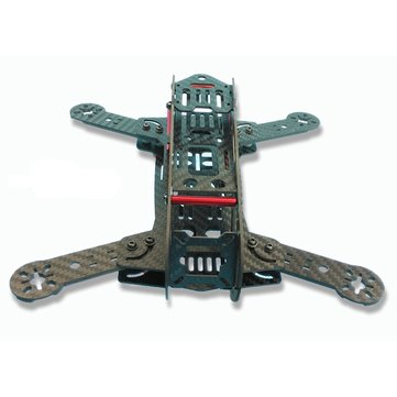 FeeYoung ZX-250 250MM Carbon Fiber Folding Frame Kit Mini QAV250 ...