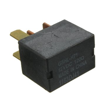 Car Air Conditioning Relay Black 12V for Honda Civic Jazz CR-V FR-V Accord