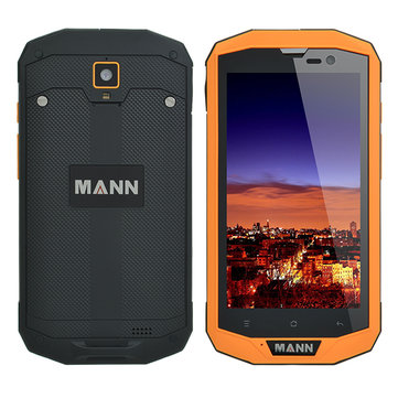 MANN ZUG 5S+ 5 inch Qualconmm MSN8926 Quad-core Waterproof IP67 3GB RAM 32GB ROM 4050mAh Smartphone