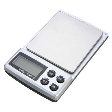 Mini Portable 1000g 0.1g LCD Display Pocket Digital Electronic Scale