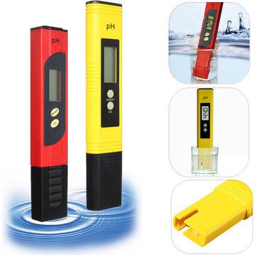 LCD Protable Numérique PH Testeur Aquarium Piscine D'eau Vin Vin Pen Stylo