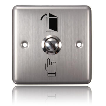 Stainless Steel Door Access Panel Exit Push Release Button Switch