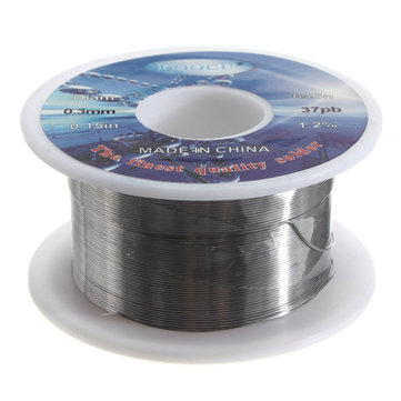 0.3 mm 63/37 Tin Solder Soldering Welding Iron Wire Lead Rosin Core Flux Reel