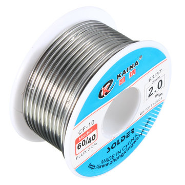 2.0mm Tin lead Solder Wire Rosin Core Soldering 2% Flux Reel Tube 60/40