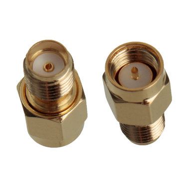 Buy 1Pc Adapter SMA Male Plug to SMA Female Jack RF Connector Straight Gold Plating for $1.56 in Banggood store