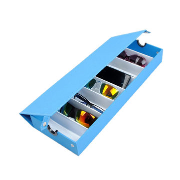 8 Grids Eyeglasses Sun Glassess Glasses Storage Box Display Tray Jewelry Showing Case