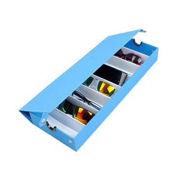 8 Grids Eyeglasses Sun Glassess Glasses Storage Box Display Tray Jewelry Showing Case