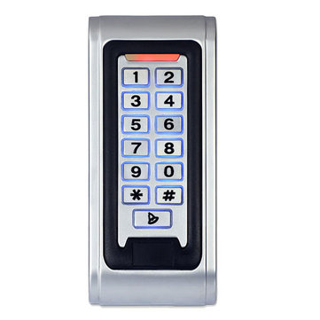ENNIO SY5000W Waterproof RFID Proximity Door Access Controller IP68 Entry Door Lock Alarm Keypad