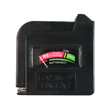 Universal Battery Tester Checker AA AAA C D 9V Button