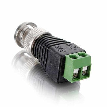 Coax CAT5 To Camera CCTV BNC Video Balun Connector