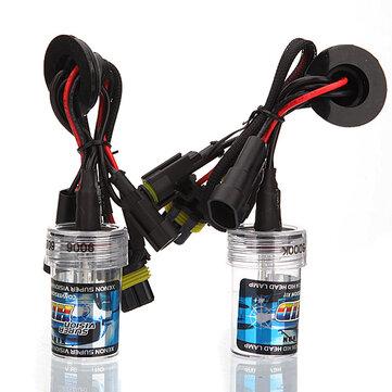 A Pair 9006 35W Car HID Xenon Replacement Headlight Light Lamp