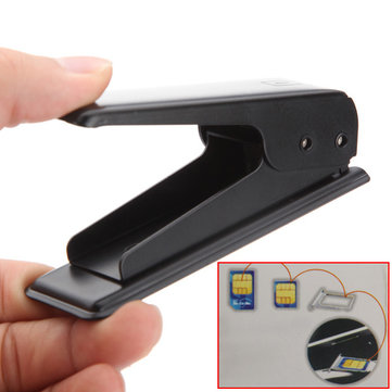 Micro Sim Card Cutter With 4 Adapters For iPhone 4S 4G iPad 3G