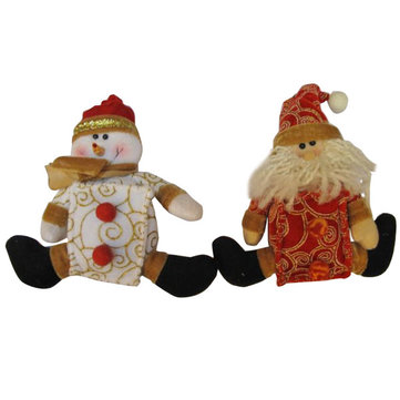 Cute Snowman Santa Claus Father Christmas Xmas For Gifts Decorations