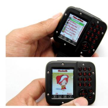 Wrist Watch Cell Phone Mobile Dual Sim Card 1.5