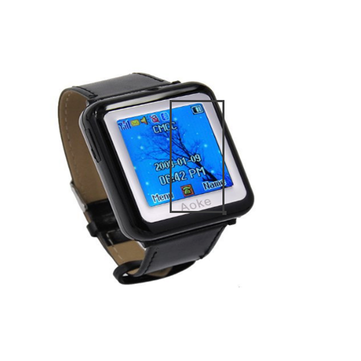 1.3 inch AK09 Tri Band Tough Screenn Wrist Watch Mobile Cell Phone With Camera Bluetooth Video MP3