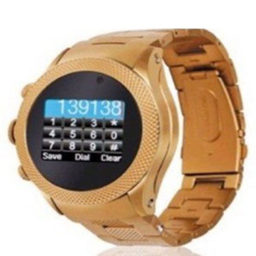 S766 Quad Band GSM Tough Screenn Cell Phone Watch 1.3 inch OLED Touch LCD 1.3MP Camera Dual SIM Standby Bluetooth MP3 MP4