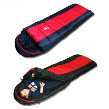 На открытом воздухе кемпинга спальные мешки семь отверстий хлопок осень зима -15 градусов спальный мешок