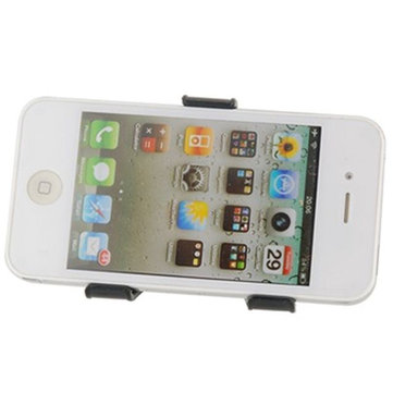 Black Arpus PC Clip Stand Holder For iPhone 4 4S