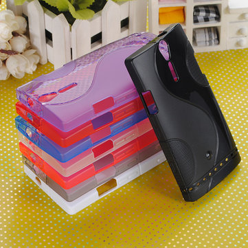 S-Line Curve TPU Silicone Gel Case for Sony Ericsson Xperia S LT26i