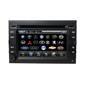 VW PASSAT B5 6 Inch Car DVD Player with Digital Screen+Built-in GPS+RDS