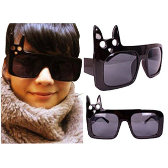 Fashion UV Resistance Material Cute Rabbit Women Sunglasses