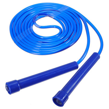 5 Colors Plastic Long Jump Rope Skipping Gym Speed Fitness