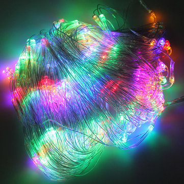 200 LED Multi-Color Web Net Fairy Light For Xmas Wedding Party 2Mx3M