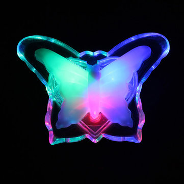 MultiColor LED Electronic Night Light Butterfly Lamp